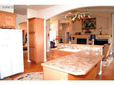 Spacious, Open Kitchen