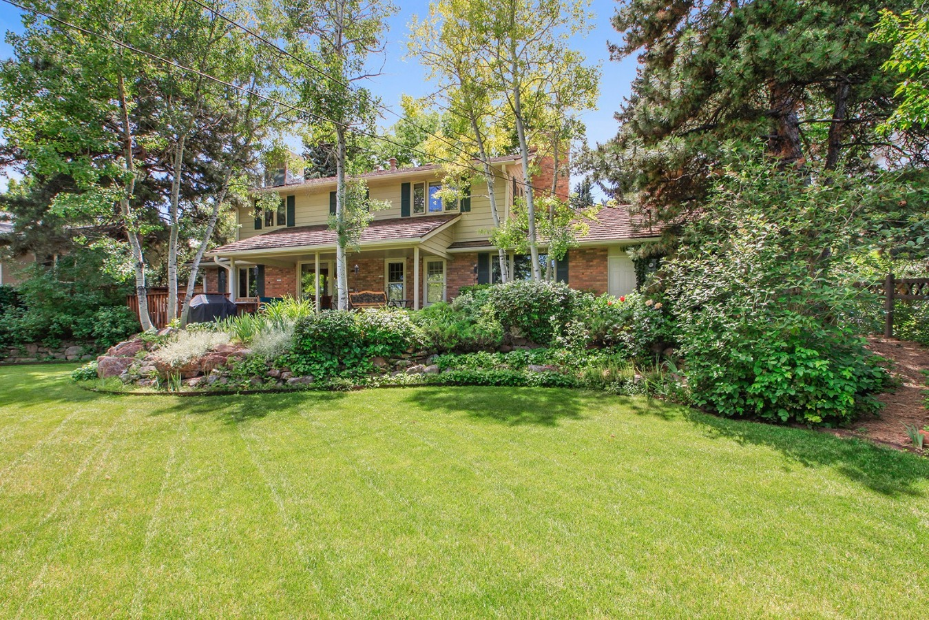 Beautiful, well-planned and maintained back yard!