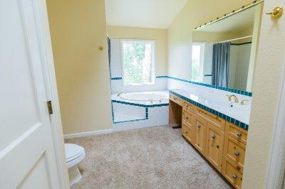 Huge Master Suite Bathroom