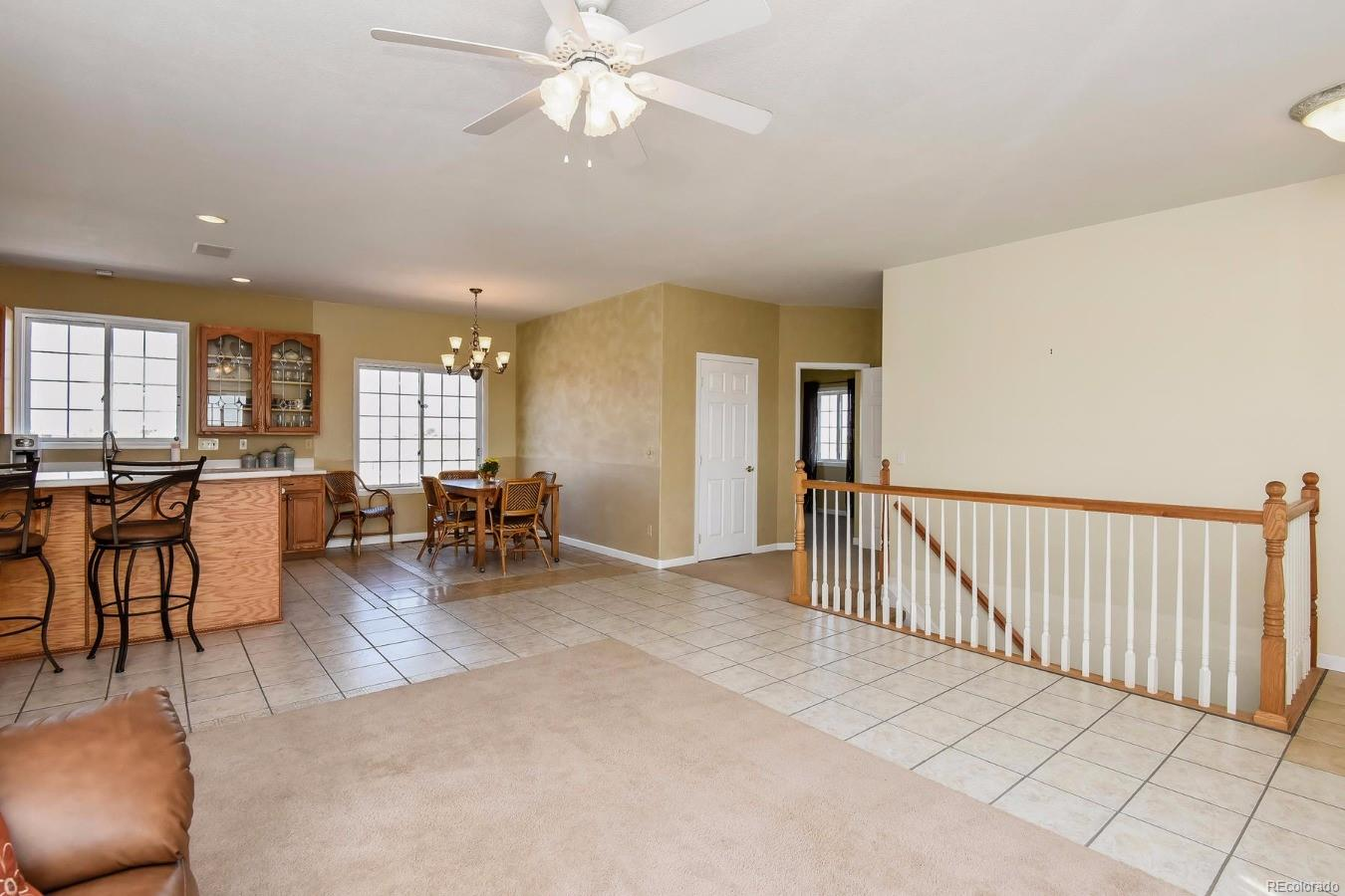 Spacious, Well-planned Kitchen, Dining and Great Room