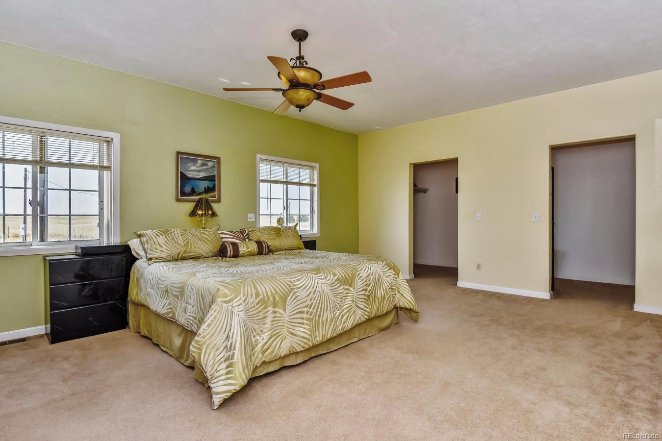 Luxury-Size Master Suite  Room for TV, Chaises and Extra Chest