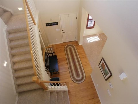 Front Entry and Stairwell.