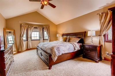 Inviting master bedroom suite - do not miss the beautiful unobstructed mountain