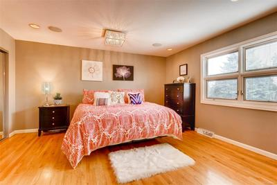 Master Suite with two closets