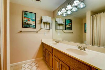 Full bathroom in the basement