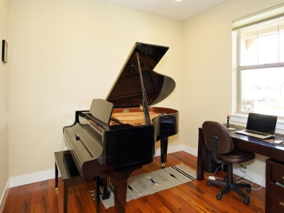 Office/Piano room