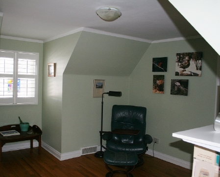 Bedroom/Study upstairs