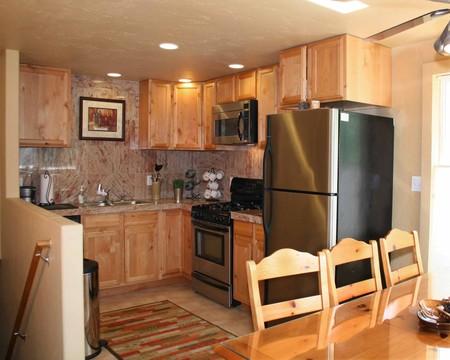 Granite Tile Counters Main Kitchen