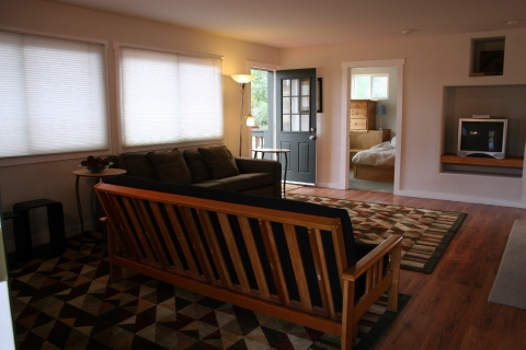 Rec Room with futon and hideaway bed