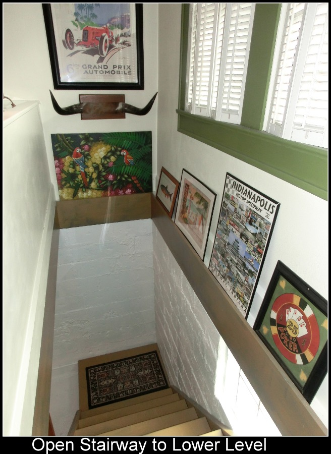 Open Stairs to Lower Level