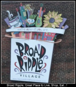 Broad Ripple Sign