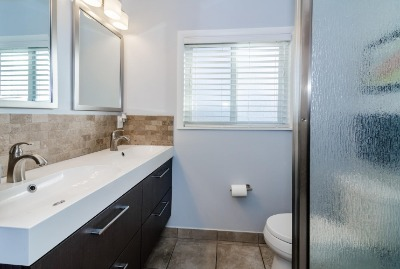 Totally Remodeled Bath with Dual Sinks