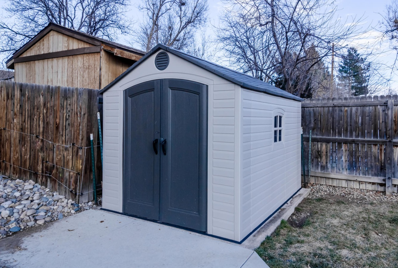 Bonus Storage Shed is Included