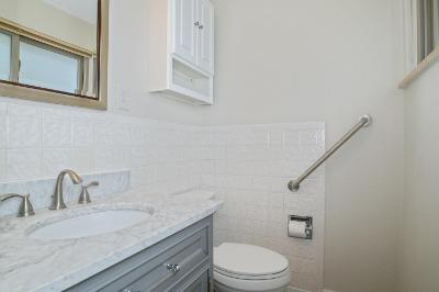 Remodeled Powder Bath in Master