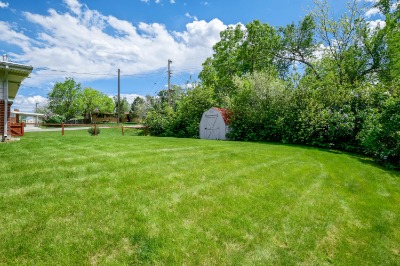 Large Fenced Yard with Room to Expand/Add Garage