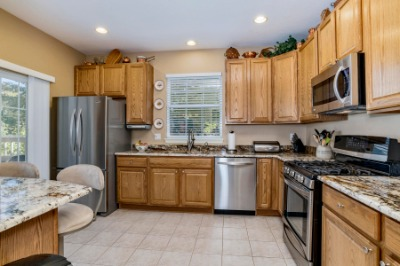Updated Granite Kitchen with Stainless Appliances