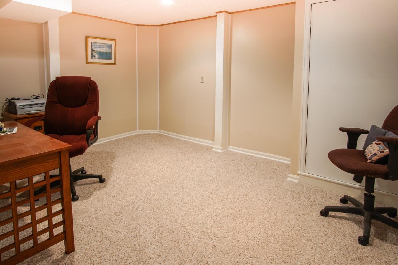 Basement office/den/playroom space