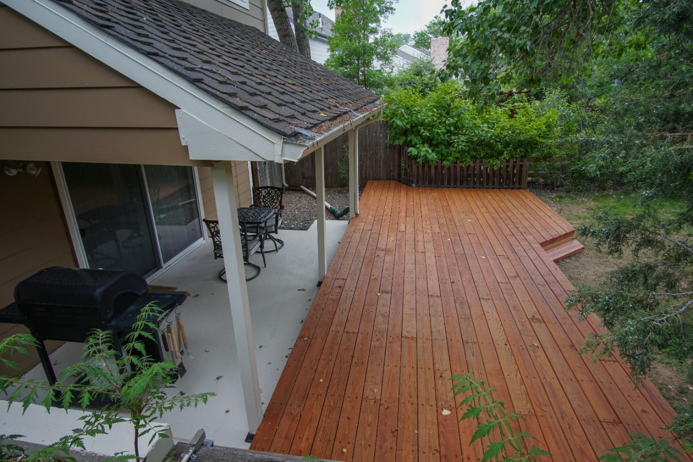 Backyard entertainment spaces