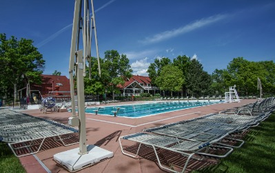 Community pool within walking distance