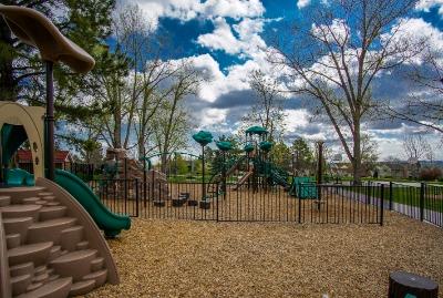 Community playground within walking distance