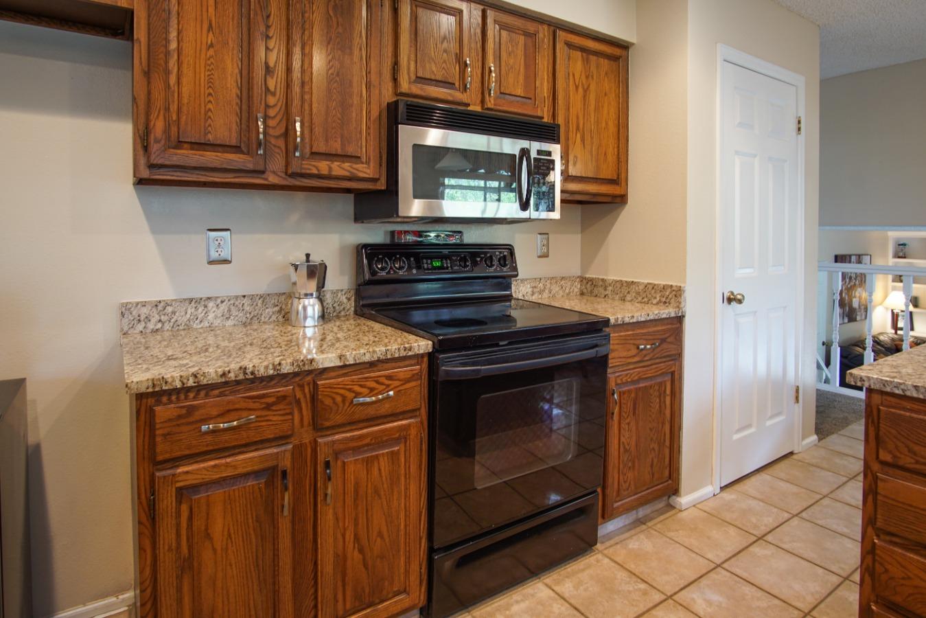 Efficient kitchen layout