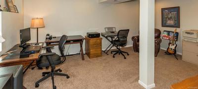 Enormous Basement Bedroom/Study
