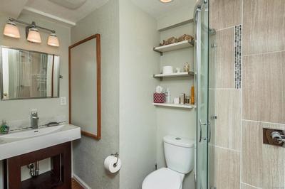 Remodeled 3/4 Basement Bath