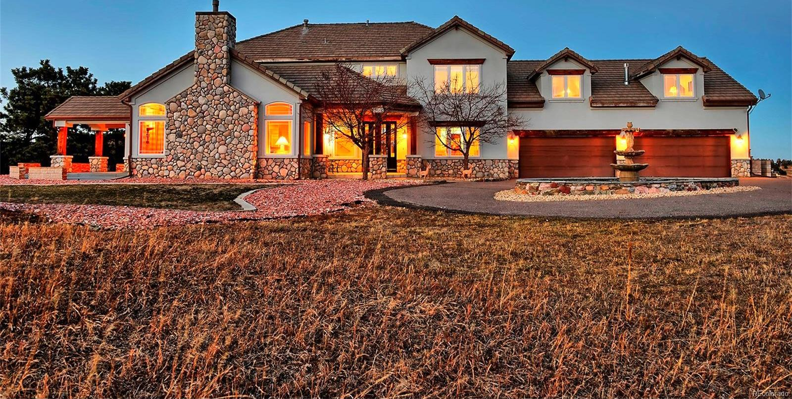 CIRCLE DRIVEWAYS IN FRONT & BACK*OVER 8K SQ FT HOME