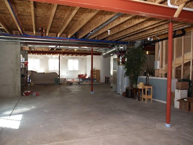 Full open basement