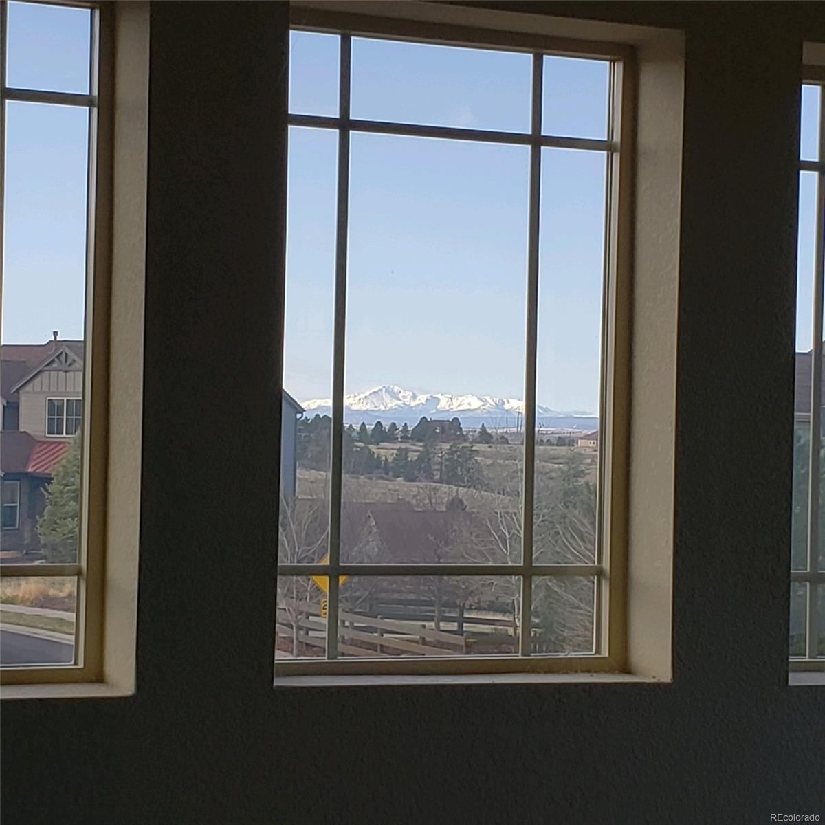 Wonderful views of Pike's Peak from Loft windows