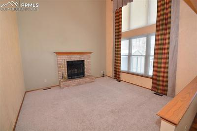 Great Room with Fireplace and lots of light.