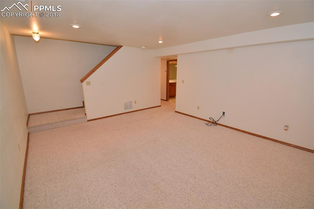 View of Family Room lower level.