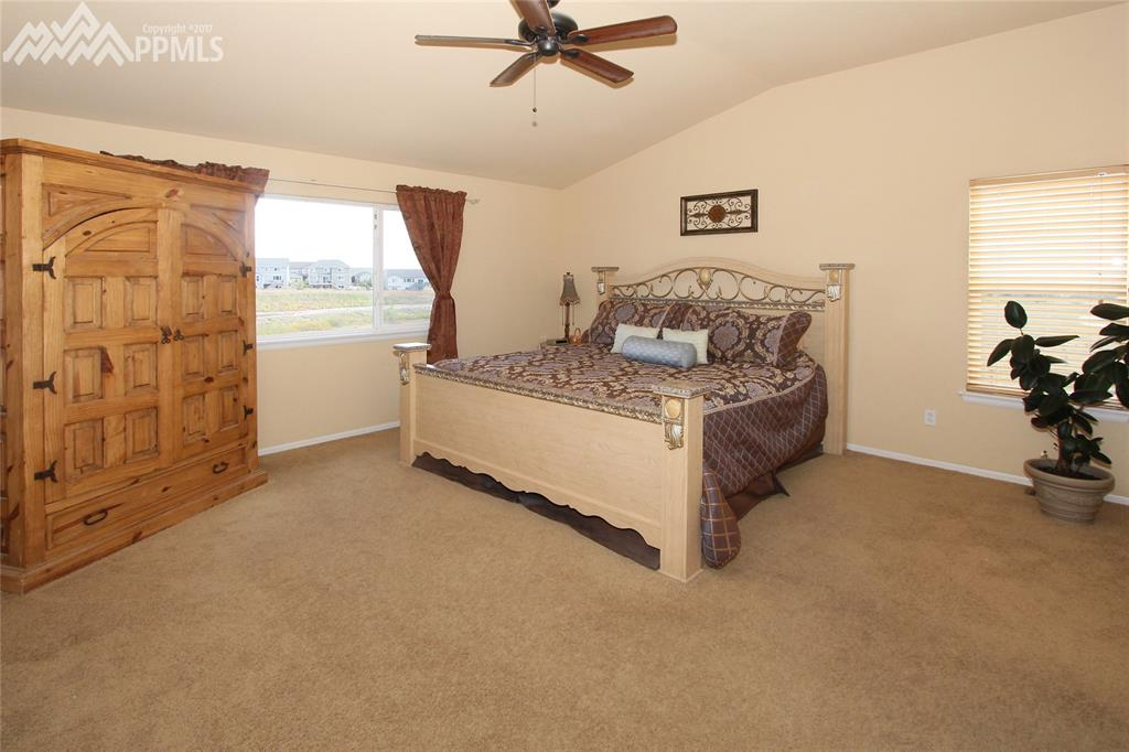 Spacious 15x15 master bedroom