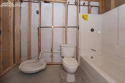 Basement is plumbed for a full bathroom