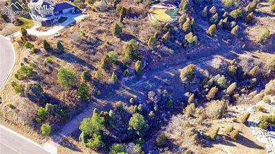 Another aerial view of the lot