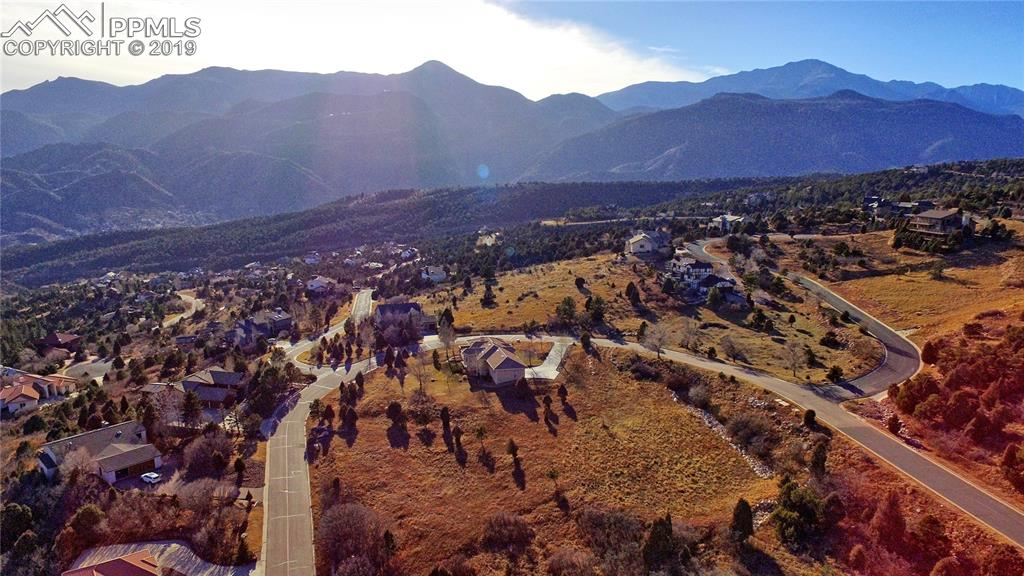 Another aerial view from drone above the lot
