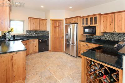 Kitchen with soap stone counter tops