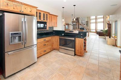 Kitchen view #2 all stainless steel appliances