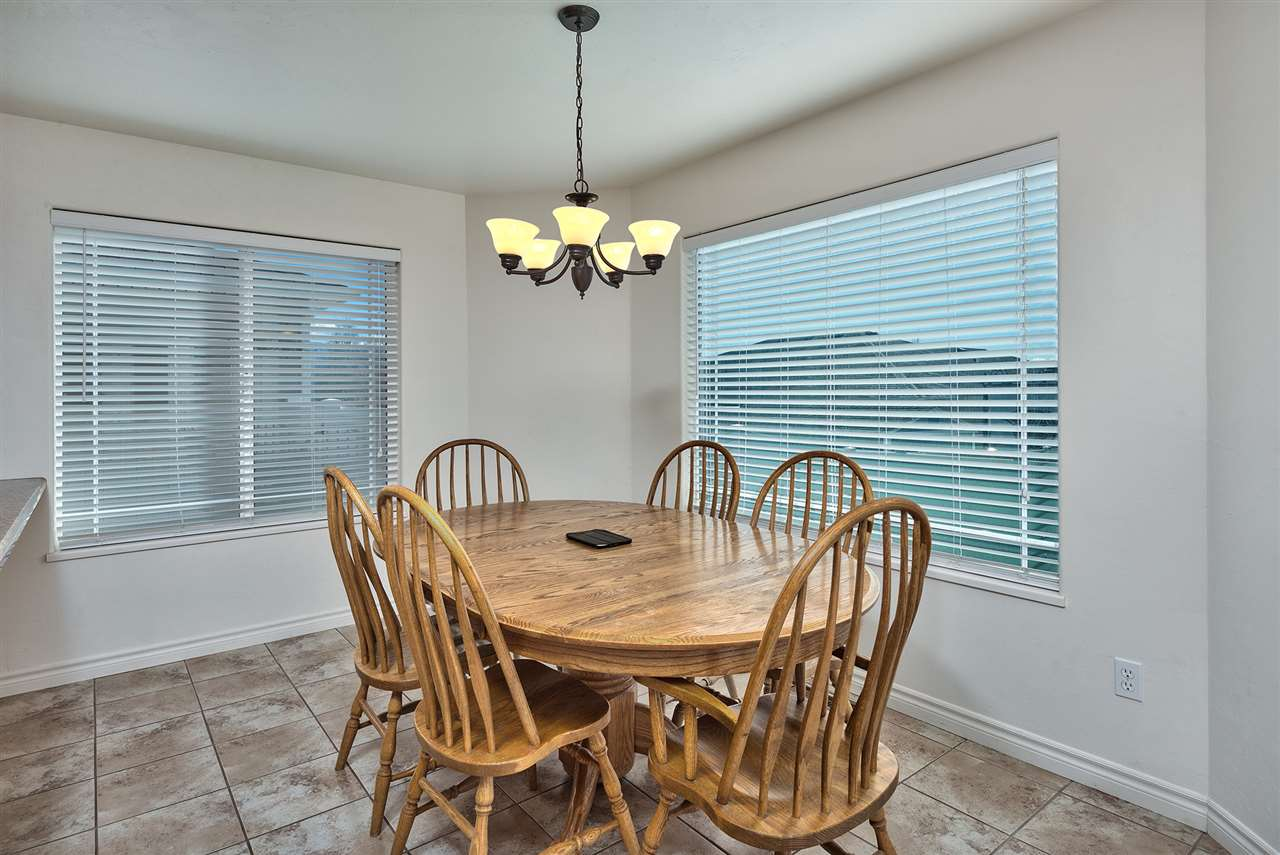 Just picture your family-gathering-sized dining room set here - most likely, it