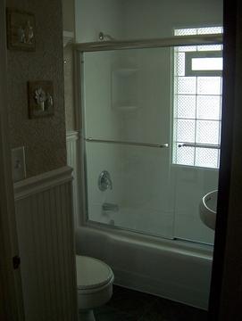Fulled Upgraded Bathroom.
