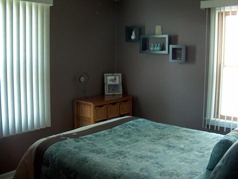 Bedroom #2 with Hardwood Floors.