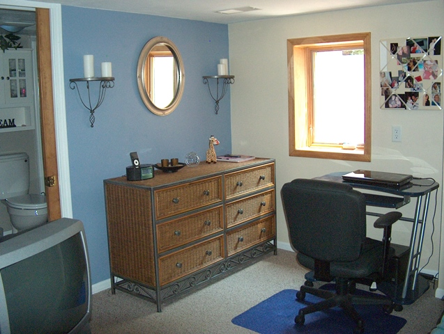 Bedroom #3 (12x15) in Basement.