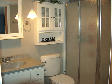 Updated 2nd Bathroom in Basement.