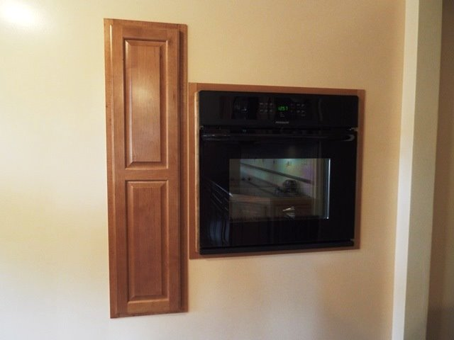 Built-in Wall Oven & Spice Rack