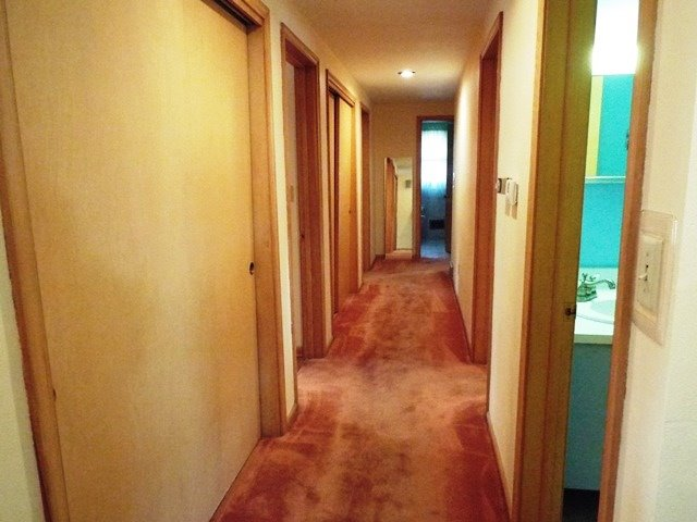 Down the Hall to Bedrooms/Bath
