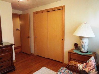 Bedroom #2 - Hardwood & Sliders