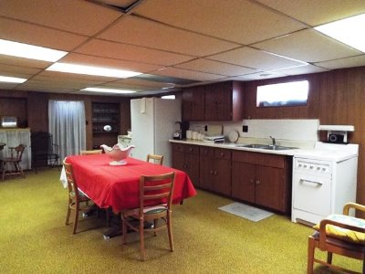 Lower Rec Room with Kitchenette