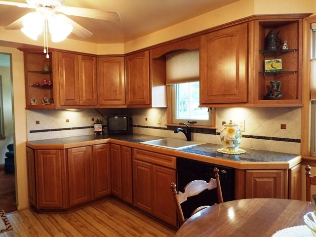 Lots of Cupboards & Counters
