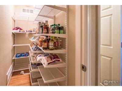 Large walk in pantry!!