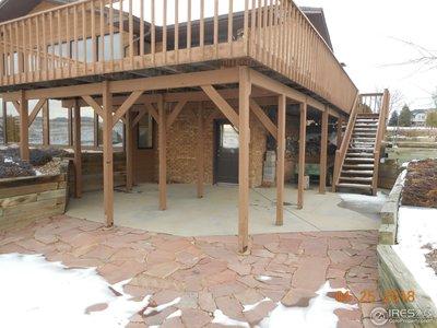 walk out wrap around deck